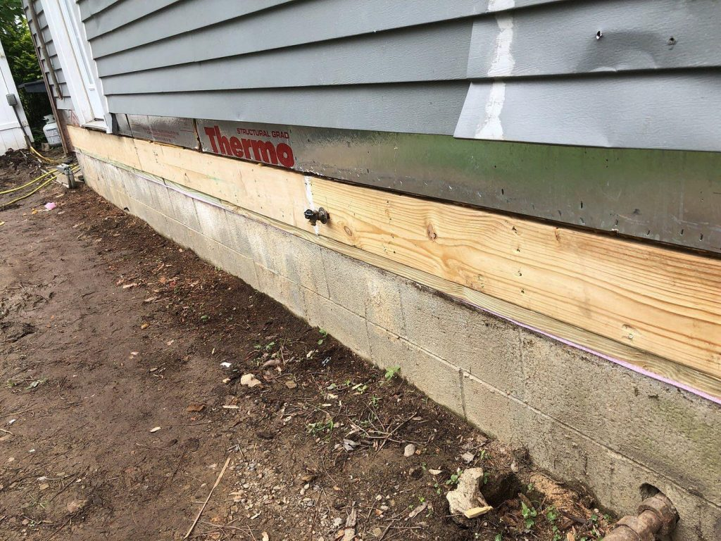 Sill Plate Repair complete