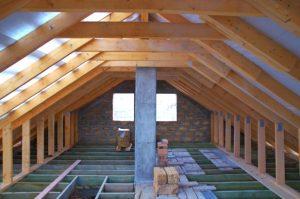 stick frame attic